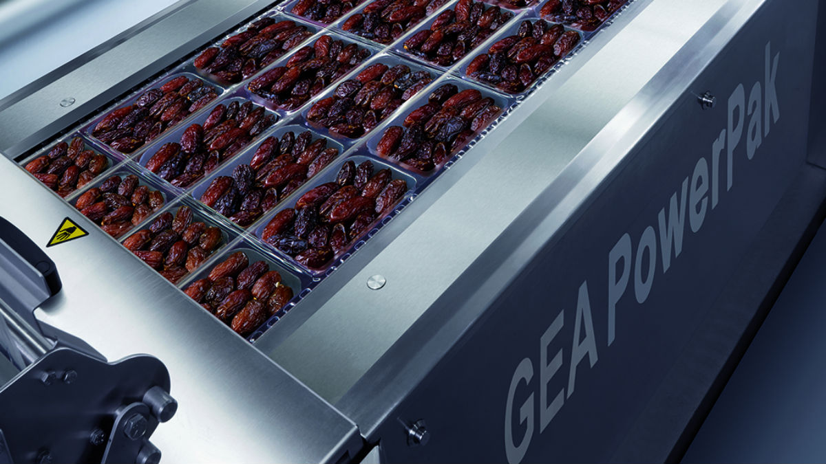 Packaging dates and poultry quickly and reliably with GEA PowerPak packaging machines