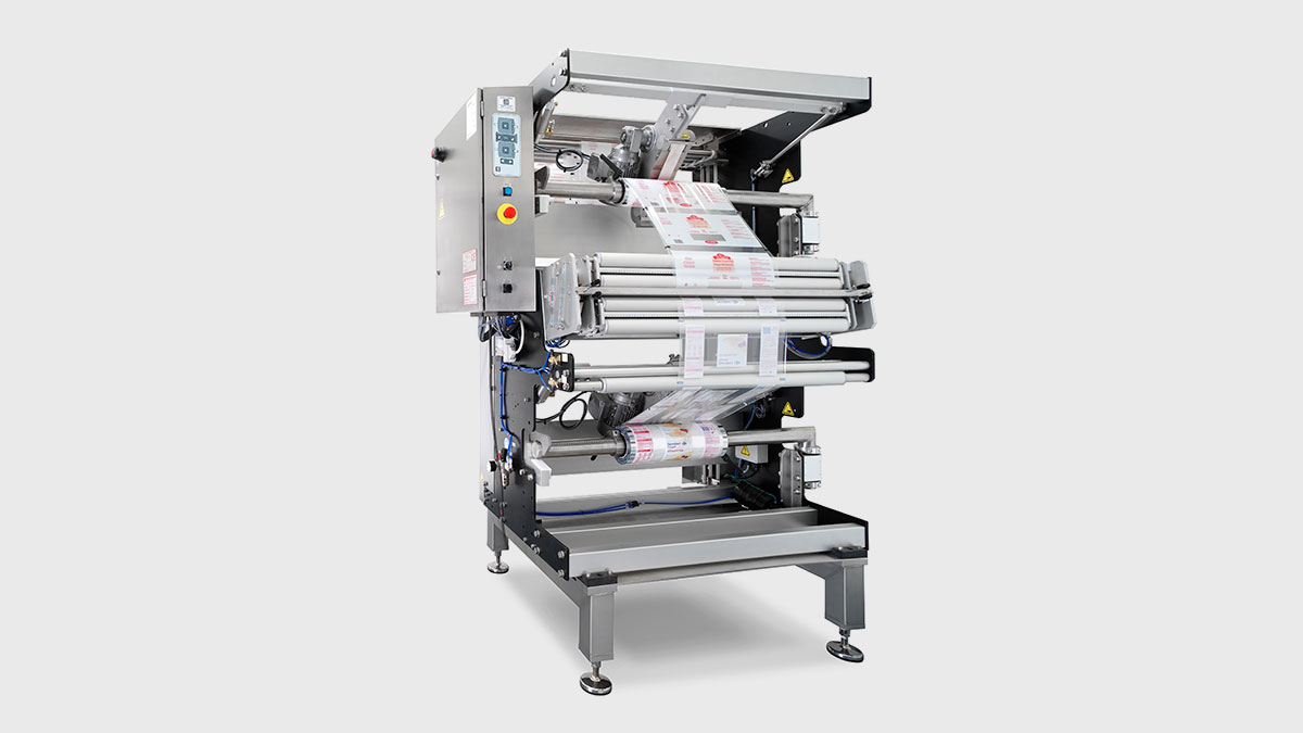 Dispositif de raccordement de film automatique pour SmartPacker GEA