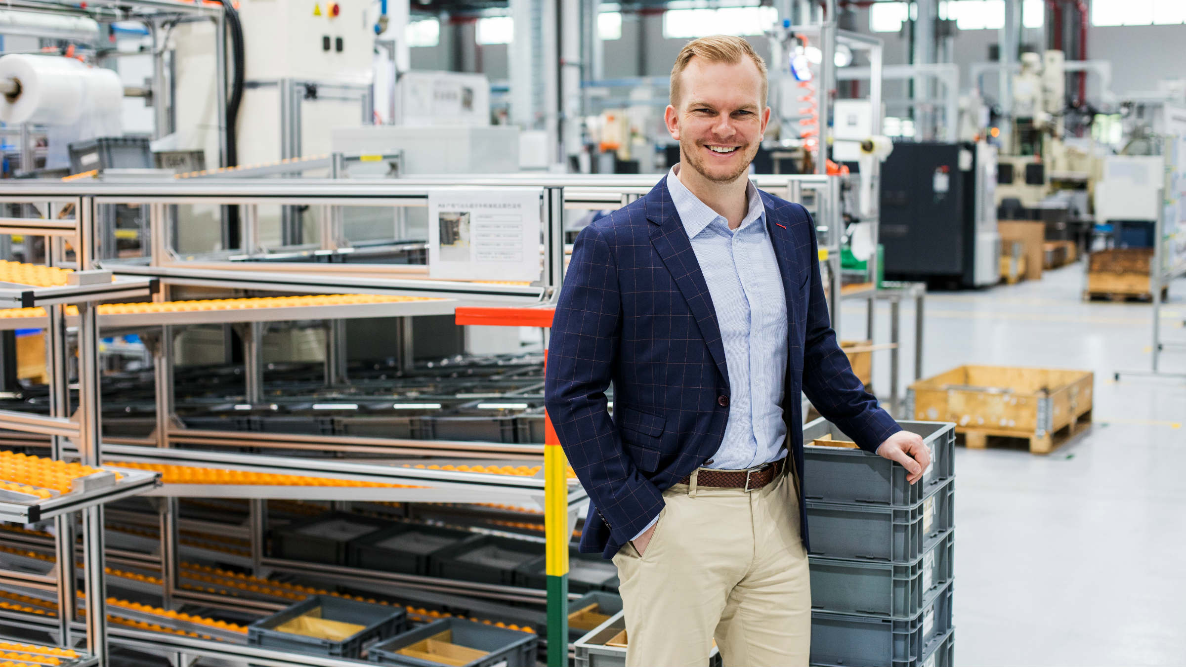 Soeren de Boon, Head of Supply Chain & Production for GEA in Suzhou, China