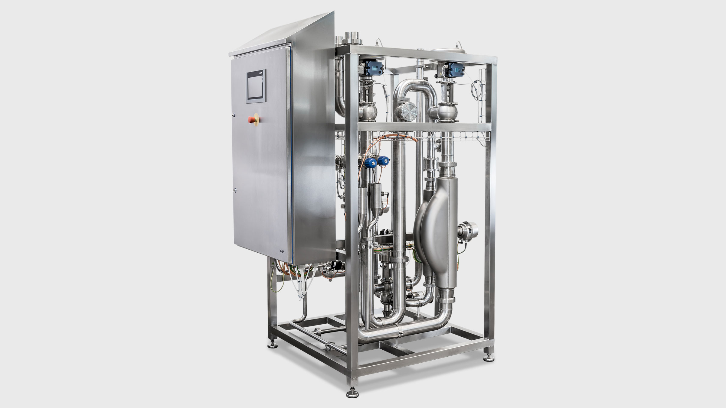 Standardization unit - GEA standomat for Cream Fat or Milk Fat