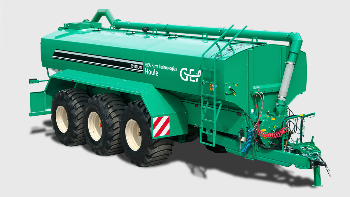 EL44 Steerable Manure Spreader