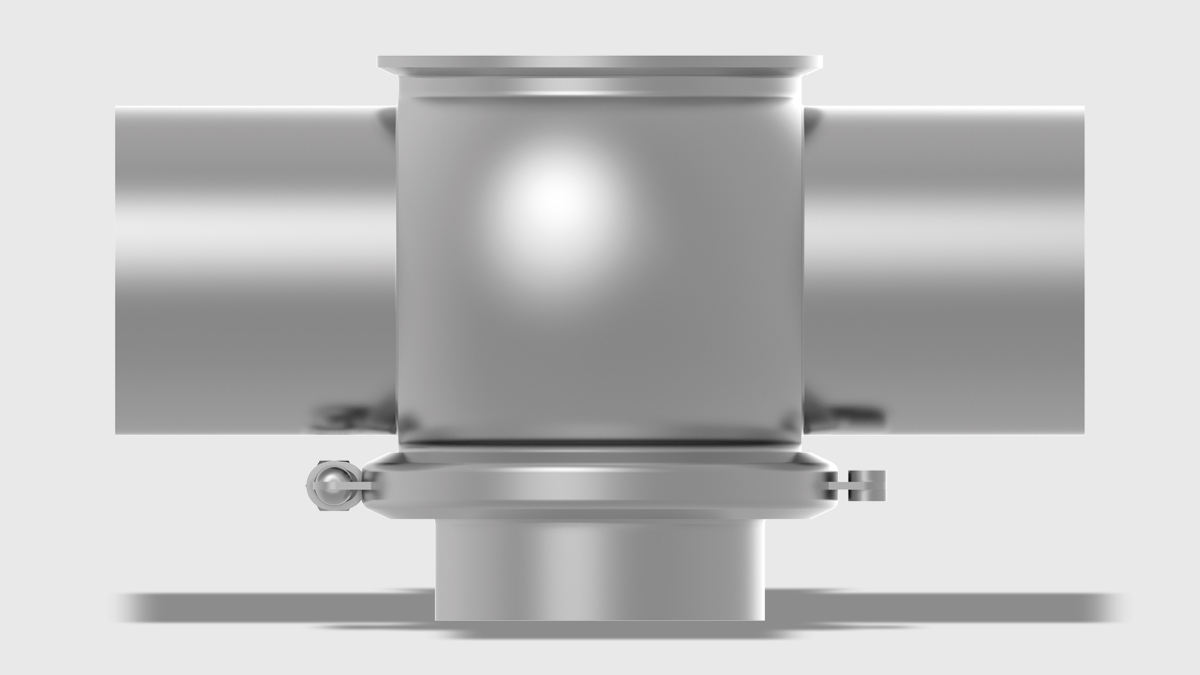 Valves with one Housing and Vertical Port