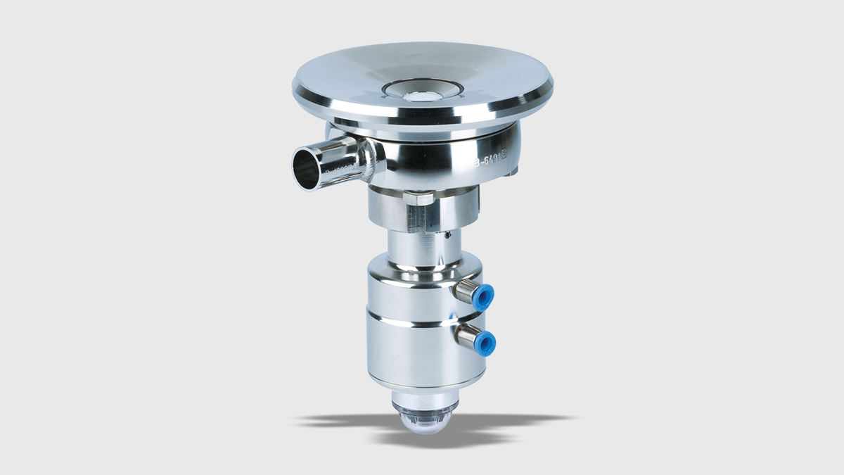 Tank-bottom Valve VESTA® H_A/T – loose flange execution
