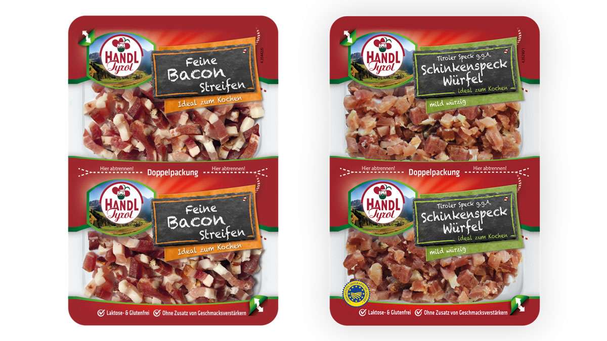Handl Tyrol bacon packed on GEA PowerPak Plus