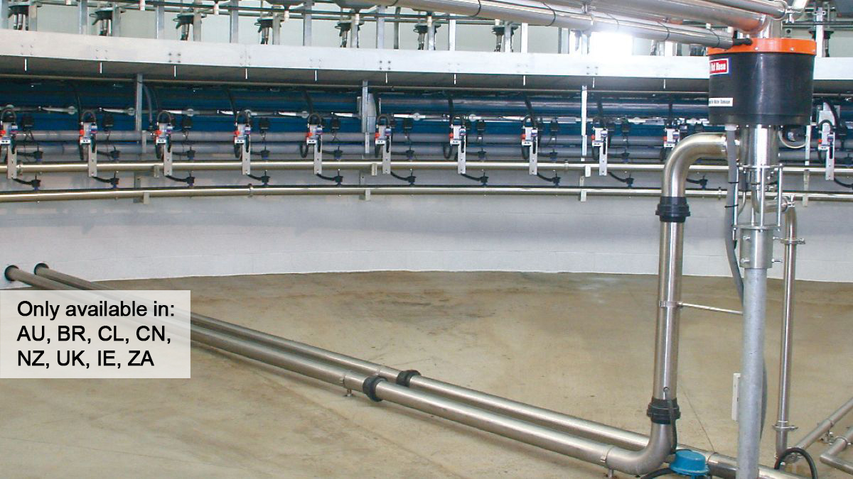 Milking Parlor Accessory - HI FLOW Rotary Transfer Glands