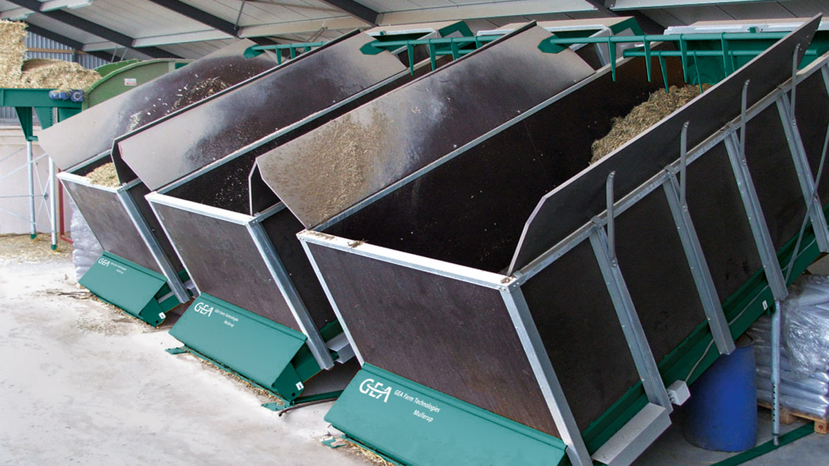 Automatic Feeding Mix & Carry