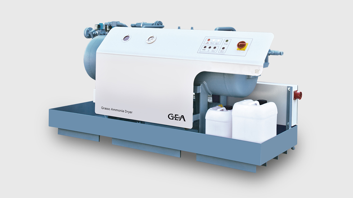 GEA Grasso Ammonia Dryer