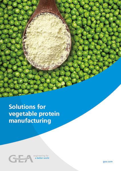 Solutions for vegetable protein manufacturing