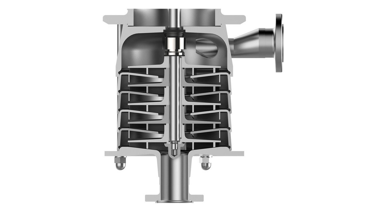 Sectional view of the GEA Hilge CONTRA
