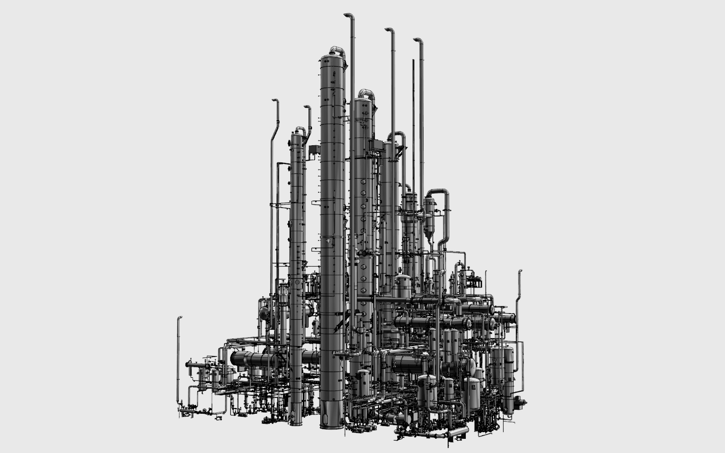 GEA distillation plant