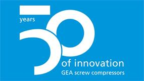 50 years of GEA screw compressor