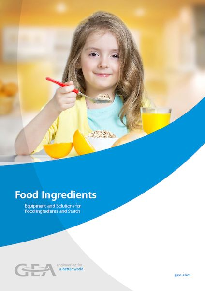 Equipment and Solutions for Food Ingredients and Starch
