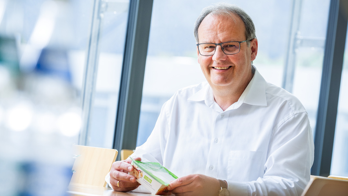 Volker Sassmannshausen, Senior Product Manager Thermoforming Packaging Systems at GEA (Photo: GEA)