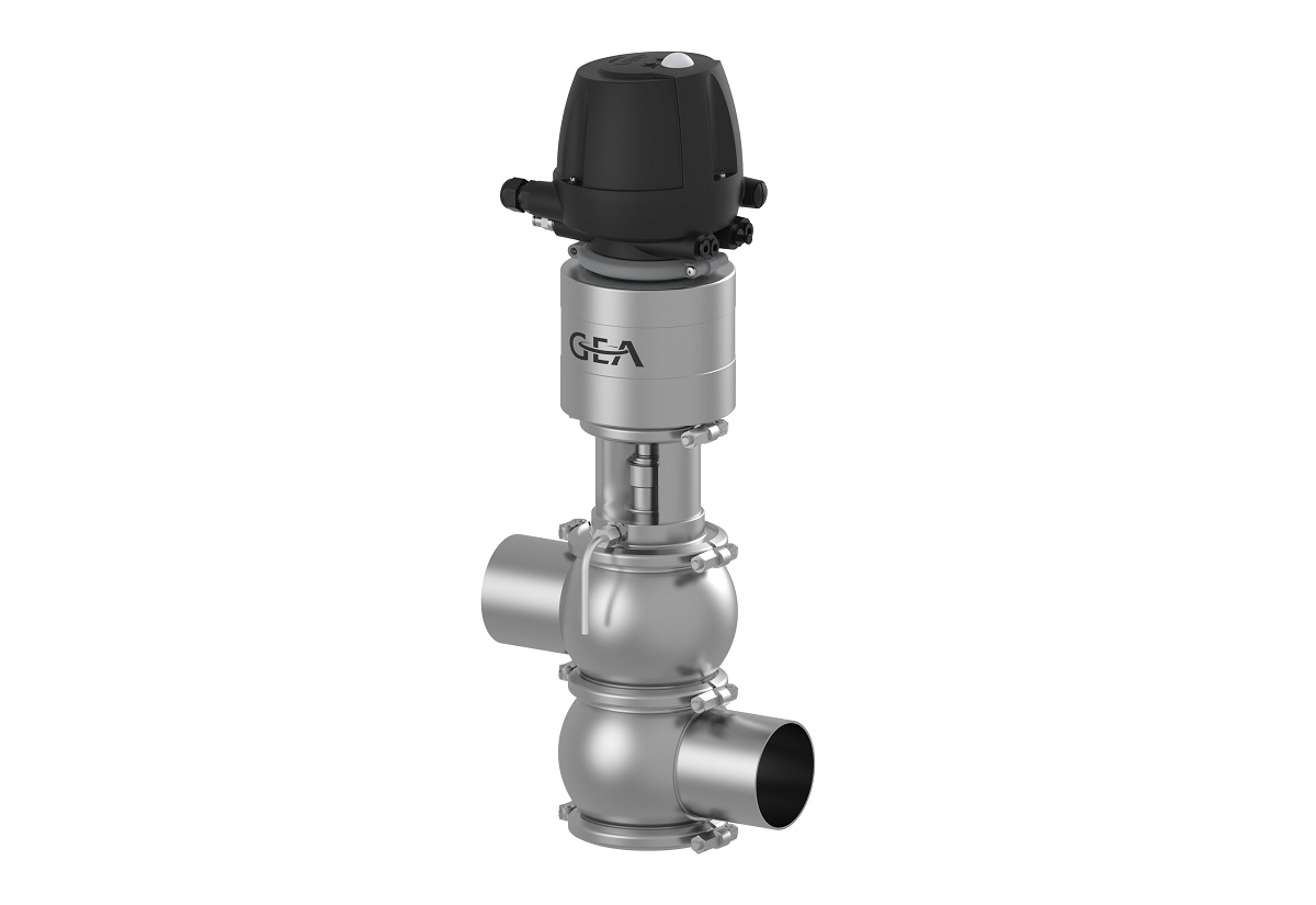 GEA is launching the P/DV D-tec® control valve for ultraclean applications in the food, beverage and dairy industries