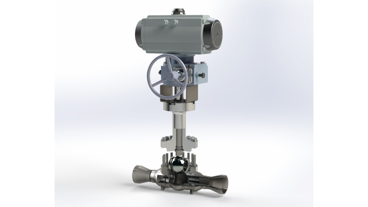 GEA has launched an addition to its range of ball valves by adding the KVplus and KVplus cryo series of top-entry ball valves designed specifically to operate with pressures of up to 100 bar. (Photo: GEA)