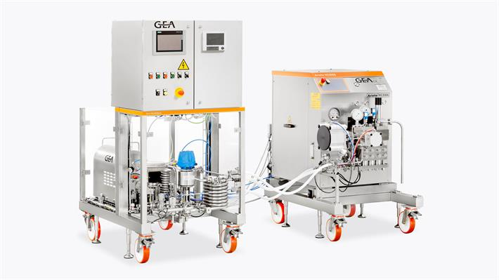 Homogenisatoren plug-&-play Farma Skid