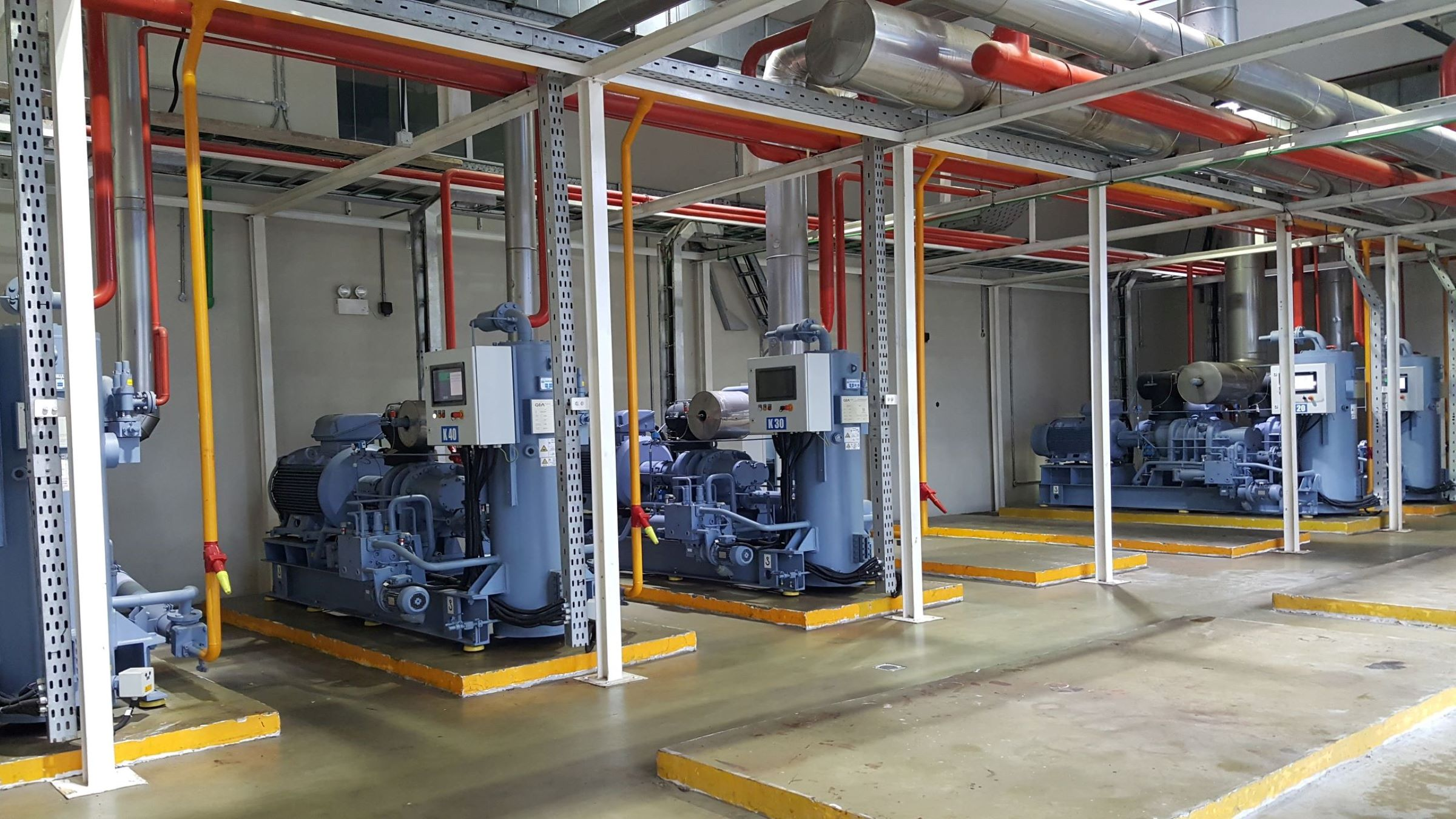 GEA Refrigeration Plant installed at CICL Ice Cream Factory