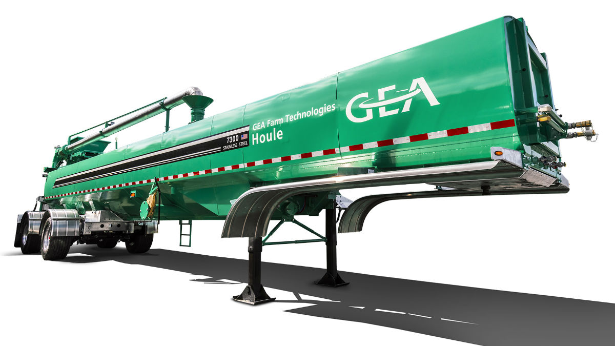 GEA announces new STR Series Semi-Tanker for Liquid Manure Transport