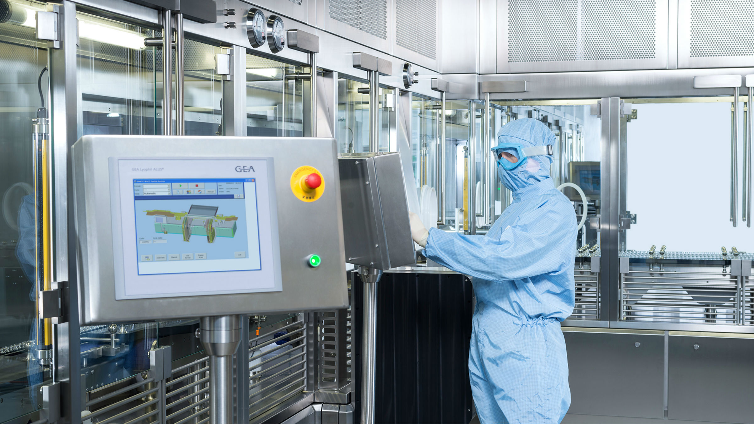 GEA presents Integrated Freeze-Drying Solutions at ACHEMA 2018