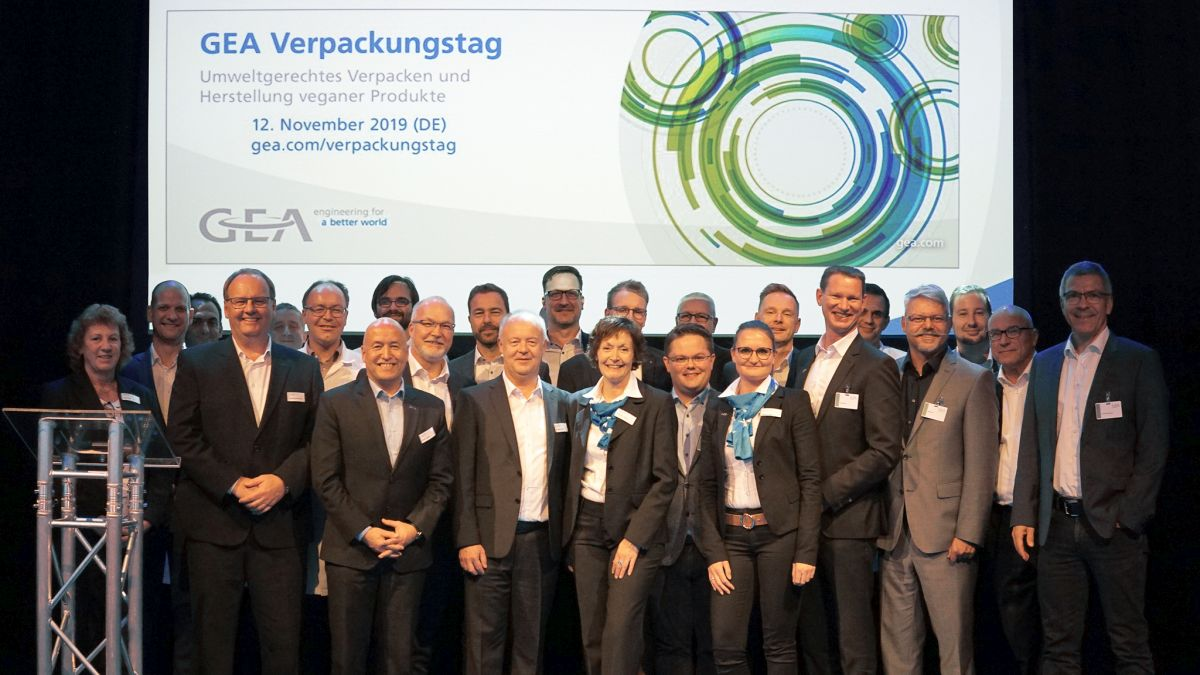 GEA Packaging Days 2019 in plant Biedenkopf (Germany)