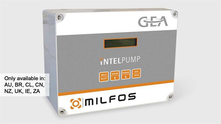 iNTELPUMP Milk Pump Controller