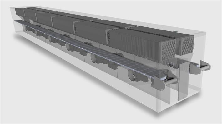 GEA HVF-series Impingement Freezers