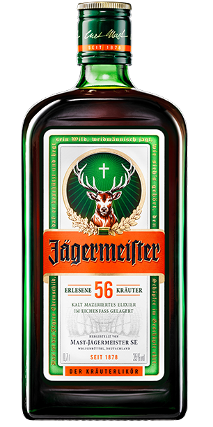 Jägermeister bottle
