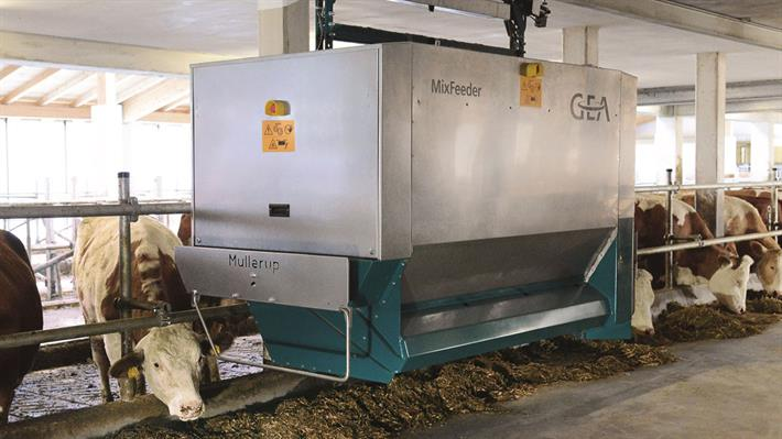 Automated Feeding MixFeeder with WIC system