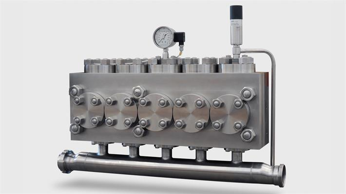 Homogenizer Compression Block Standard