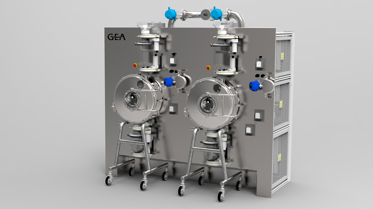 Continuous Tablet Coater
