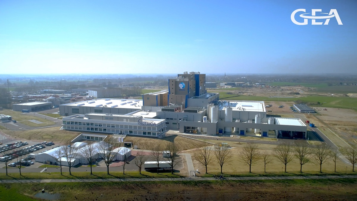 Danone Nutricia plant at Cuijk, in the Netherlands