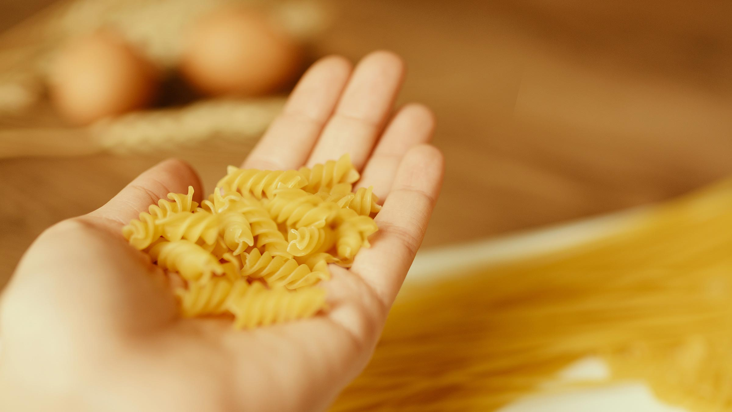 Making the best pasta out of your raw materials