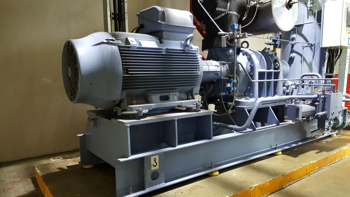 GEA Screw Compressor Package partial