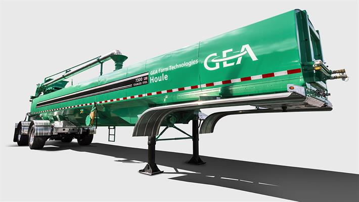 STR Series Manure Semi-Tanker