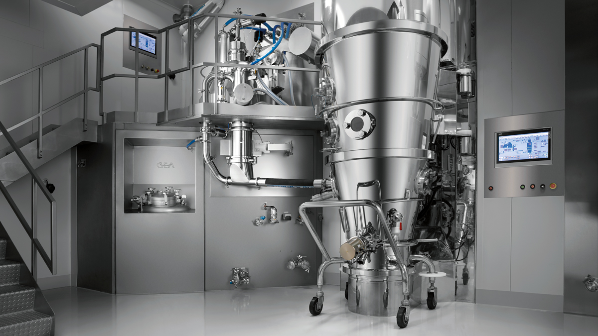 Typical Batch Integrated Granulation line