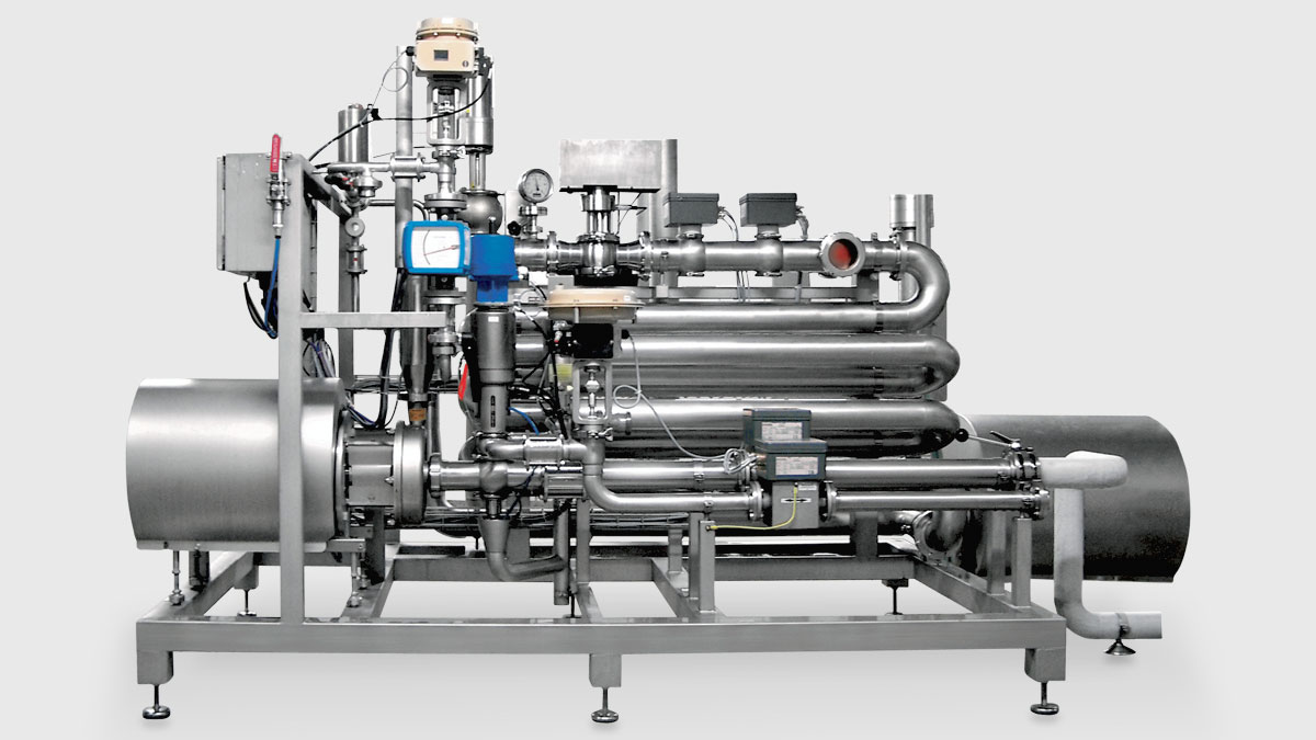 Mixing & Carbonating System