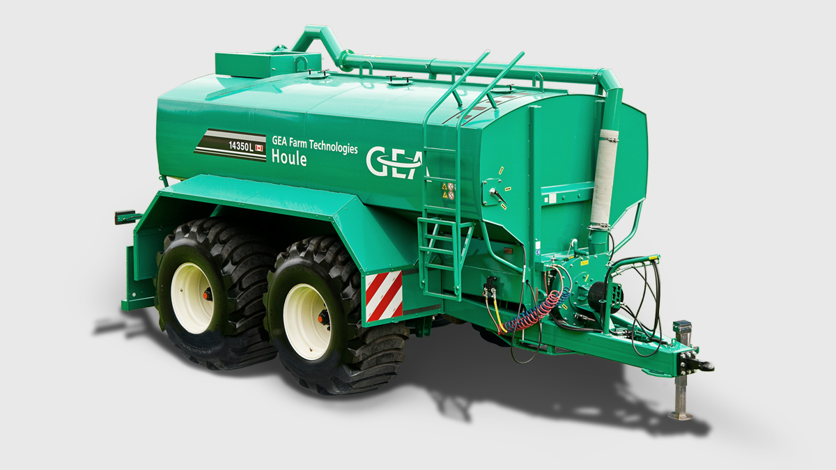 EL44 Steerable Manure Spreaders
