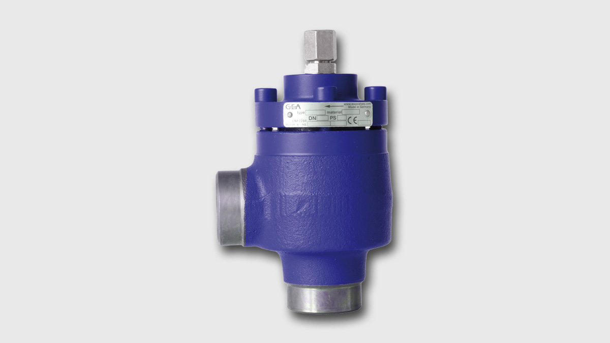 GEA AWP GPV Gas Powered Overflow Valve
