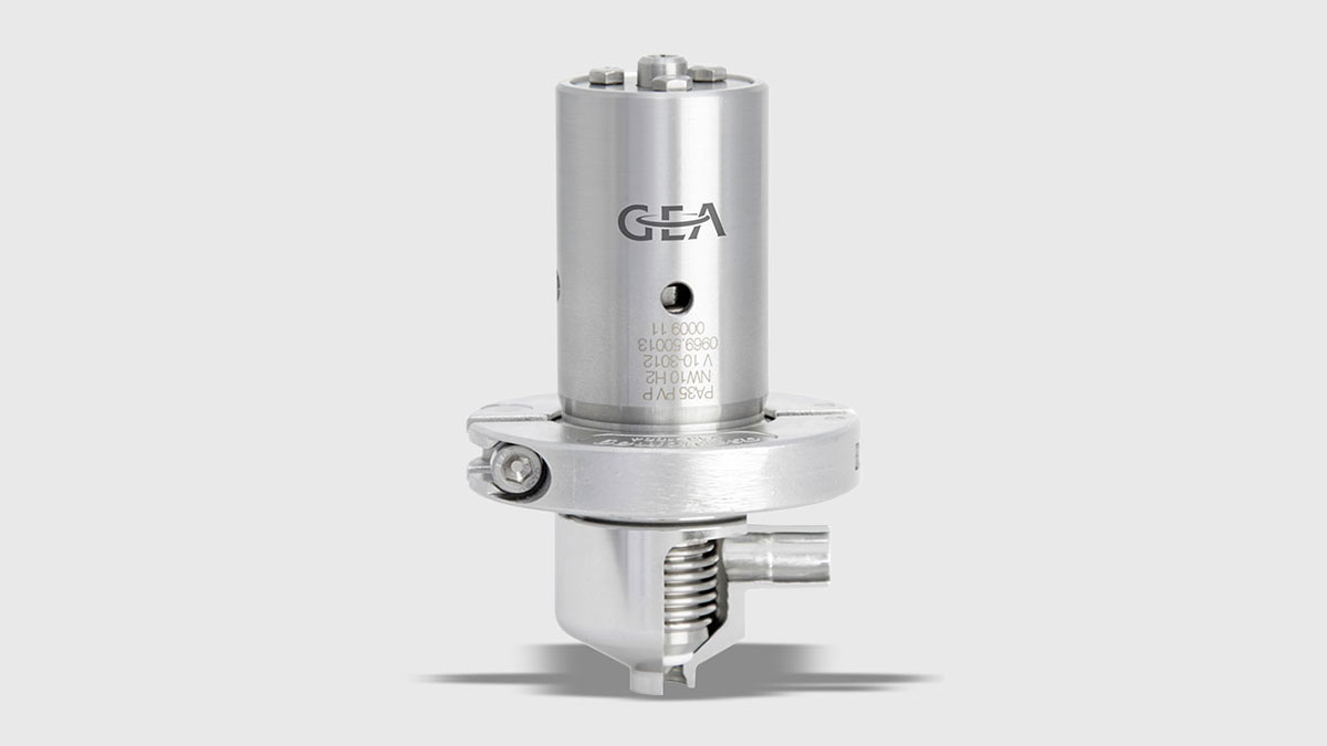 Shut-off Valve Aseptomag® AMV – standard execution
