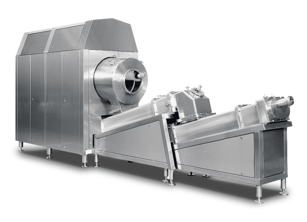 GEA's BUE buttermaking machine allows for the continuous production of butter from sweet or sour cream according to the Fritz process. For ghee production, the machine is equipped with a texturizer.