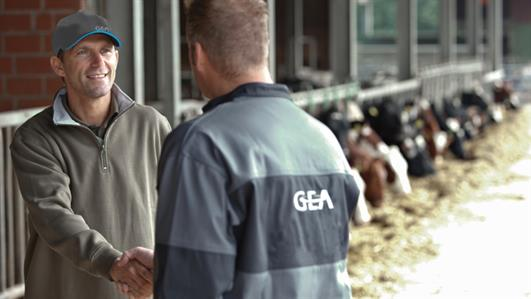 GEA DairyFarming Dealer Finder
