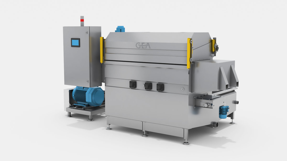 Due to improved hydraulic circuits and simplified mechanics the new GEA Universal Die-Washer use less energy and water. (Photo GEA)