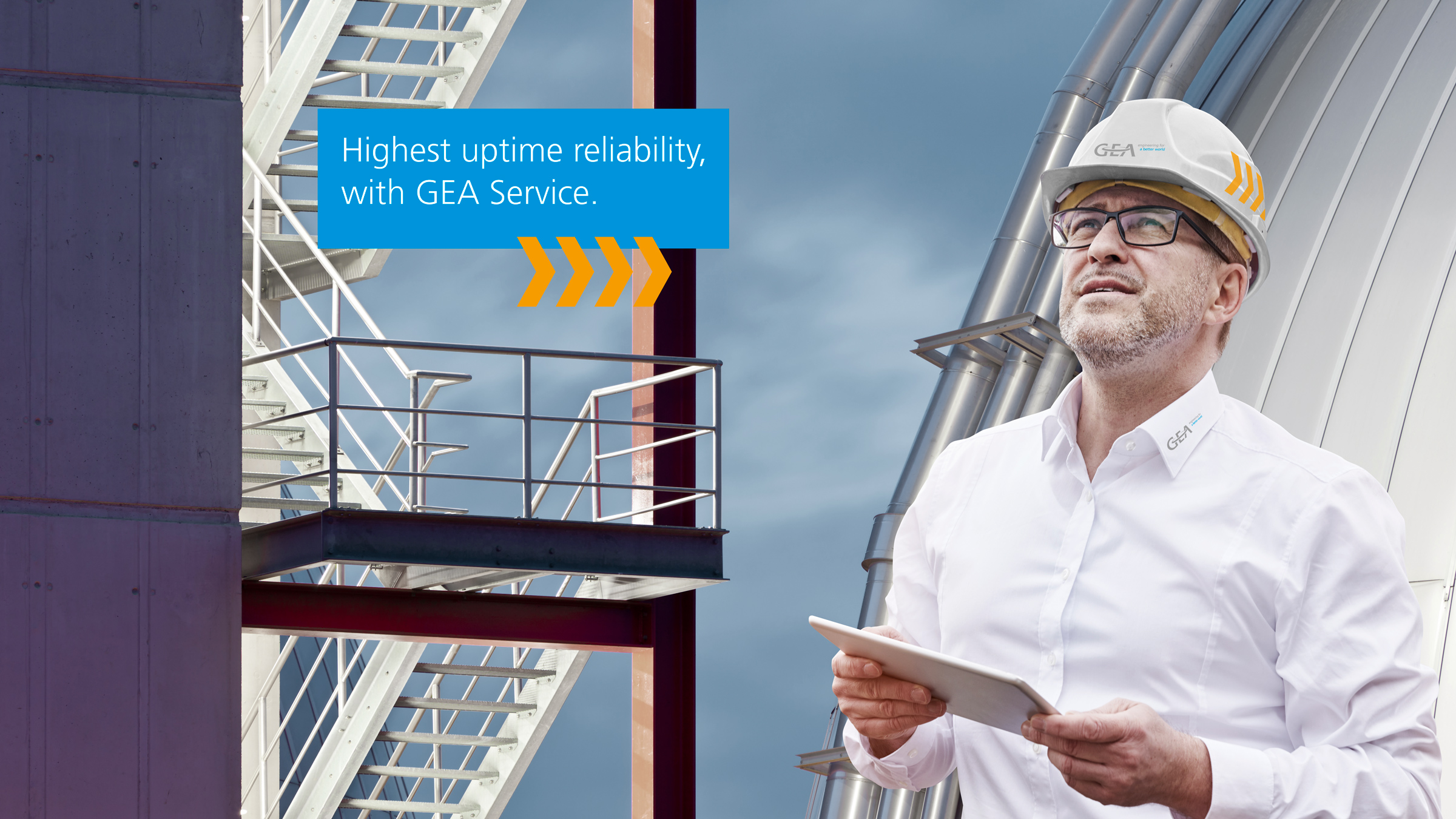 Highest uptime reliability with GEA Service