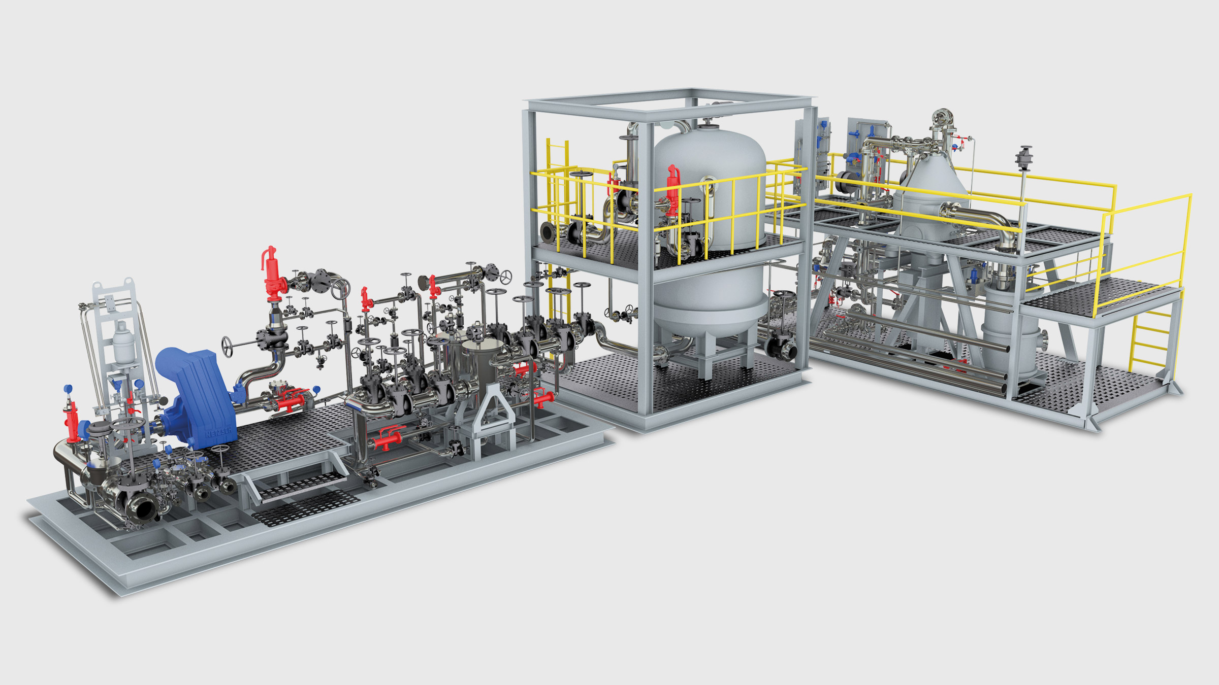 GEA Crude Oil Treatment System