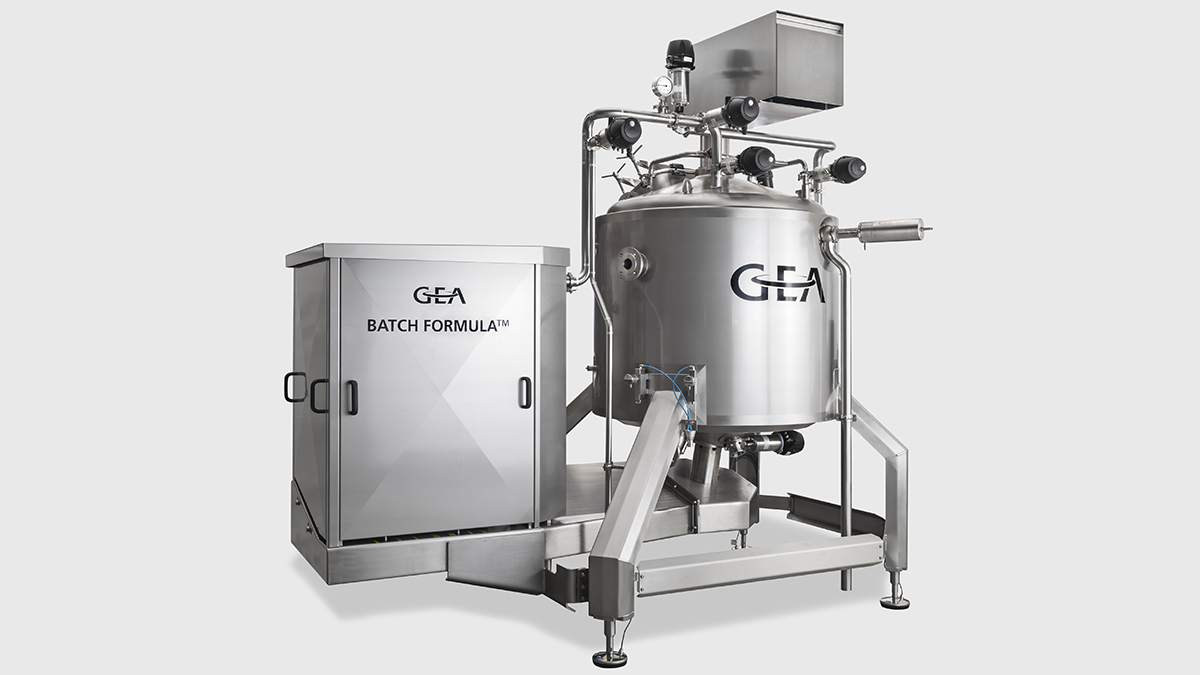 GEA High Shear Batch Mixer