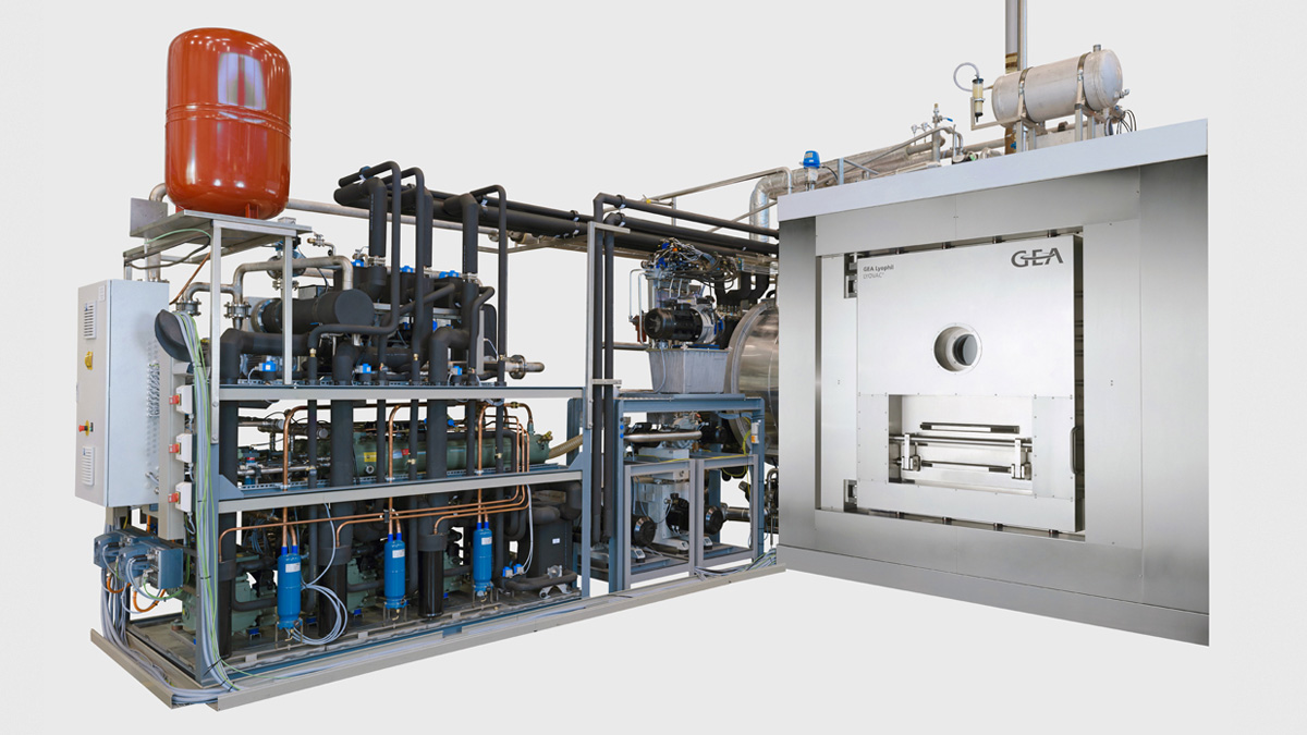 LYOVAC™ Freeze Dryer with Automatic Loading- and Unloading System ALUS™