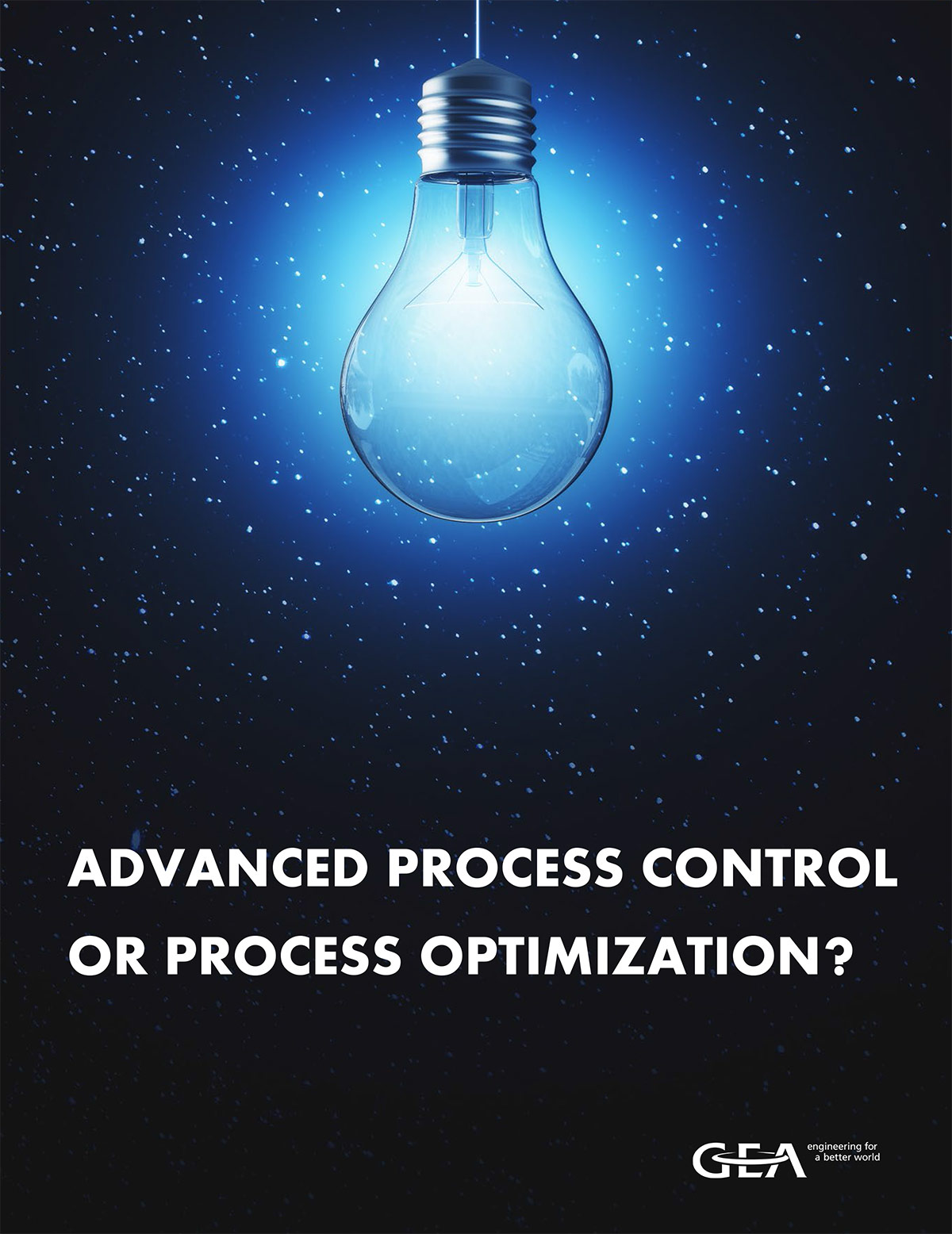 Advanced process control or process optimization