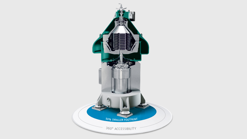 Cross-section of the new GEA marine Separator. (Photo: GEA)