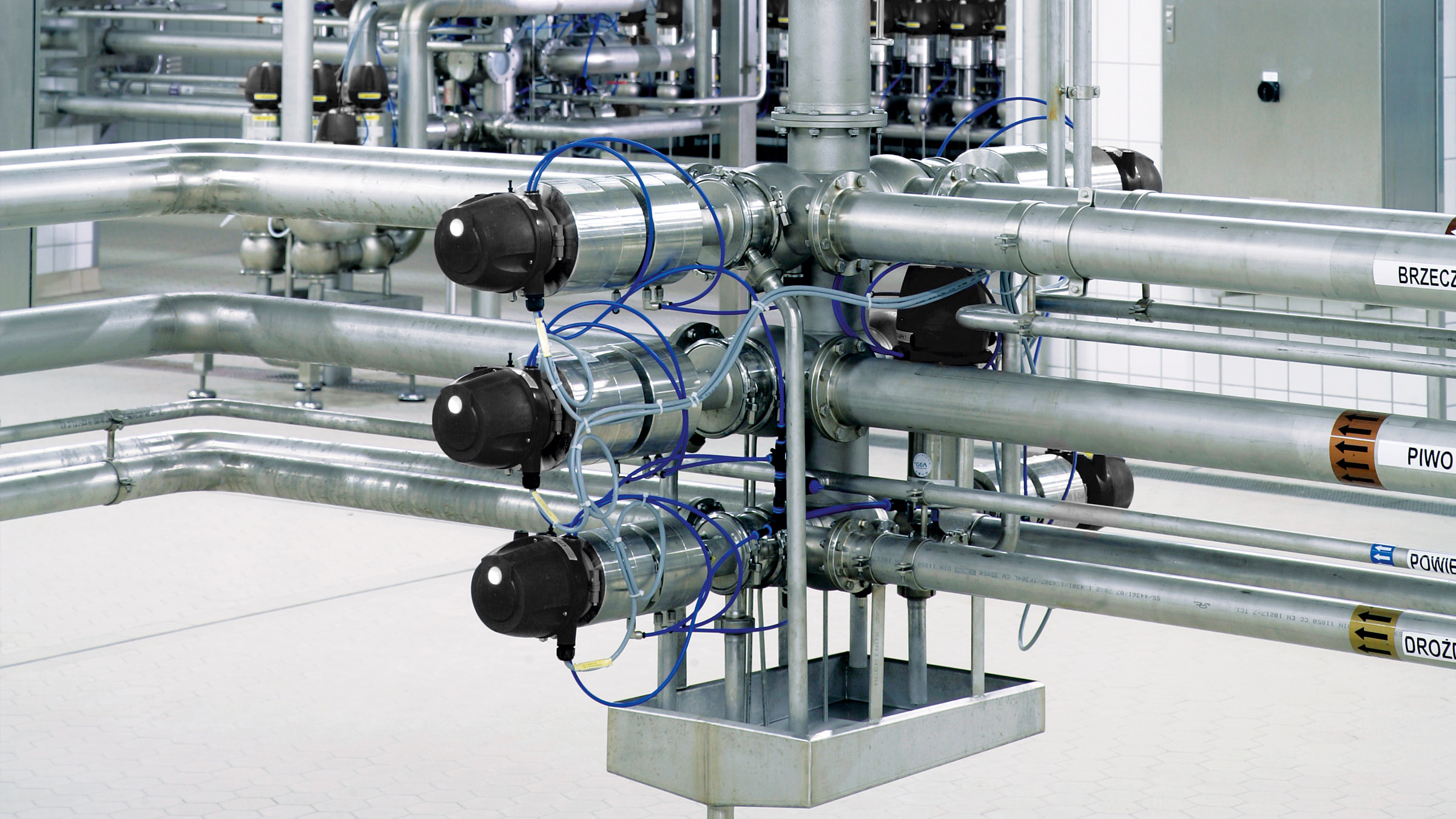 Efficient piping concept for process plants - ECO-MATRIX™