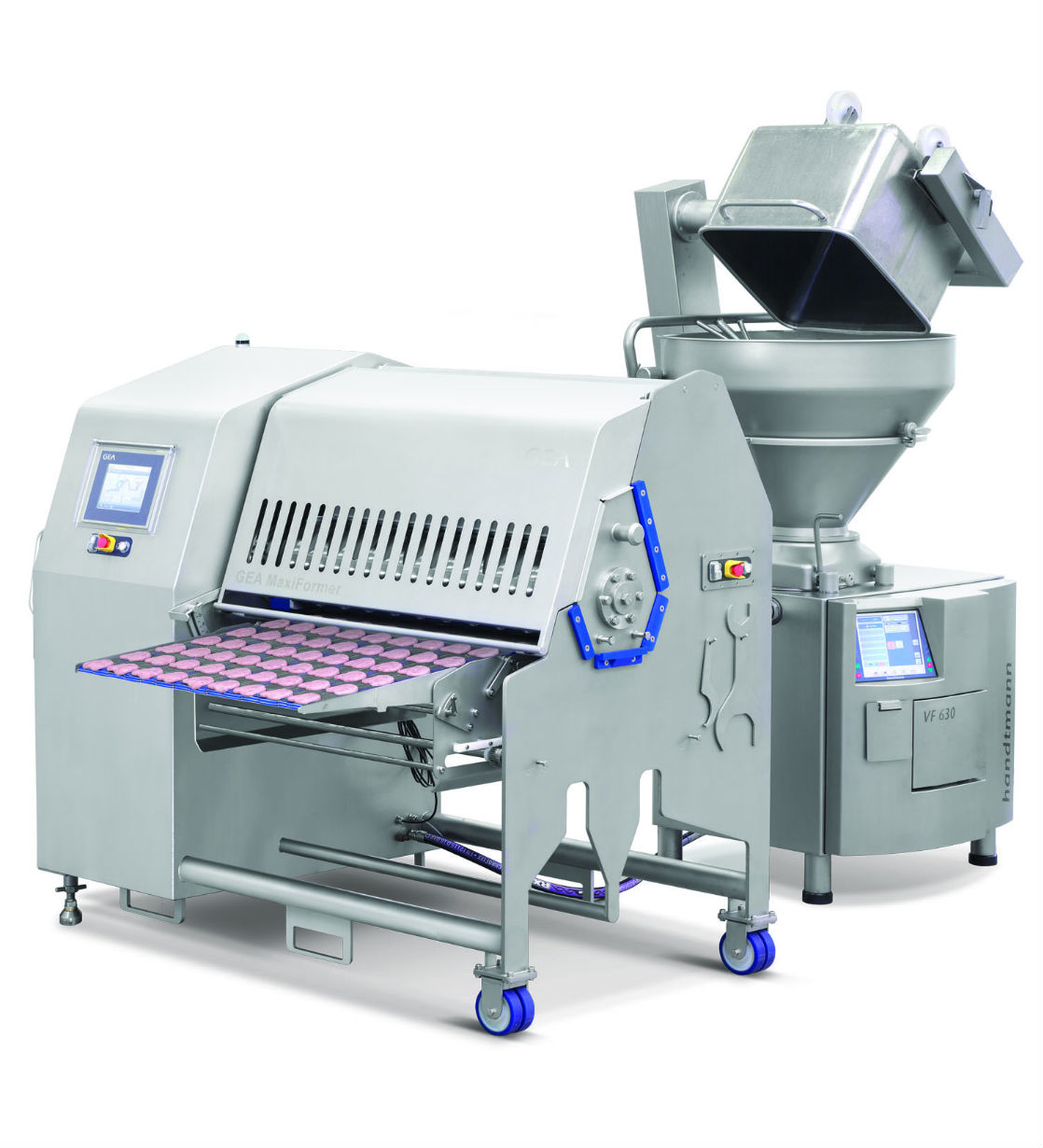 GEA MaxiFormer with Handtmann vacuum filler. (Photo GEA)